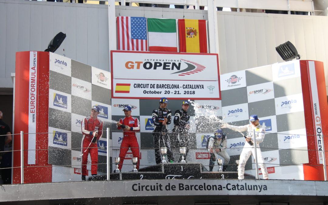 El GT Open cierra la temporada en Montmeló