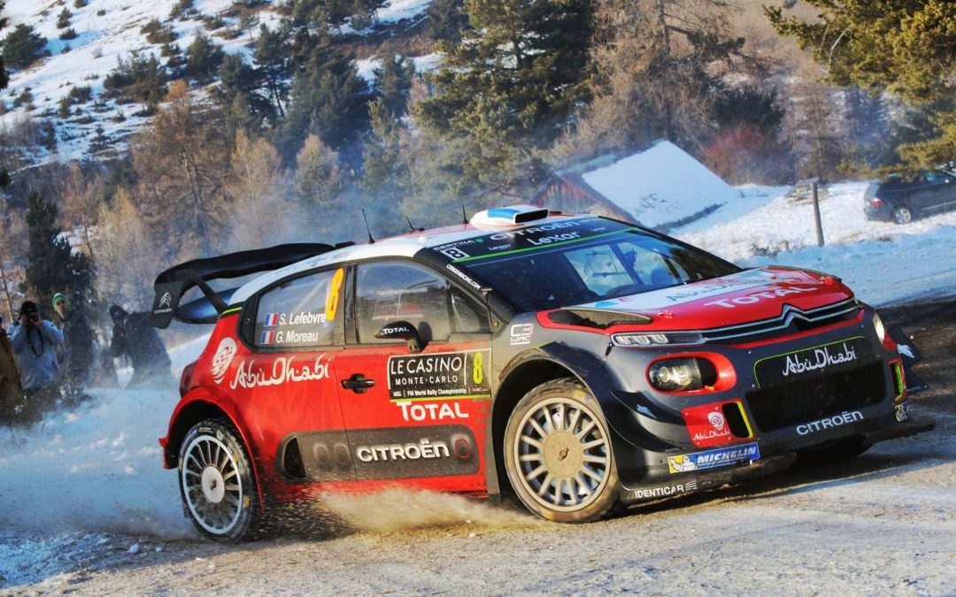 La fiesta empieza con el Rally Monte-Carlo