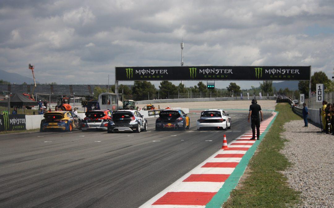 Los Hansen dominan el primer día del RallyCross de Cataluña