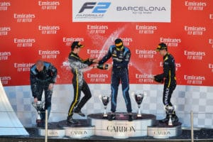 Nicholas Latifi amplía su ventaja en Barcelona
