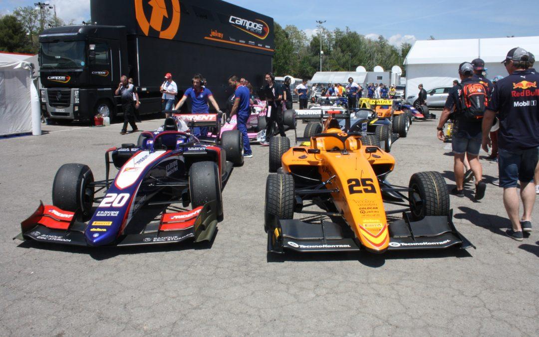La nueva Fórmula 3 debuta en Montmeló junto a la Fórmula 2