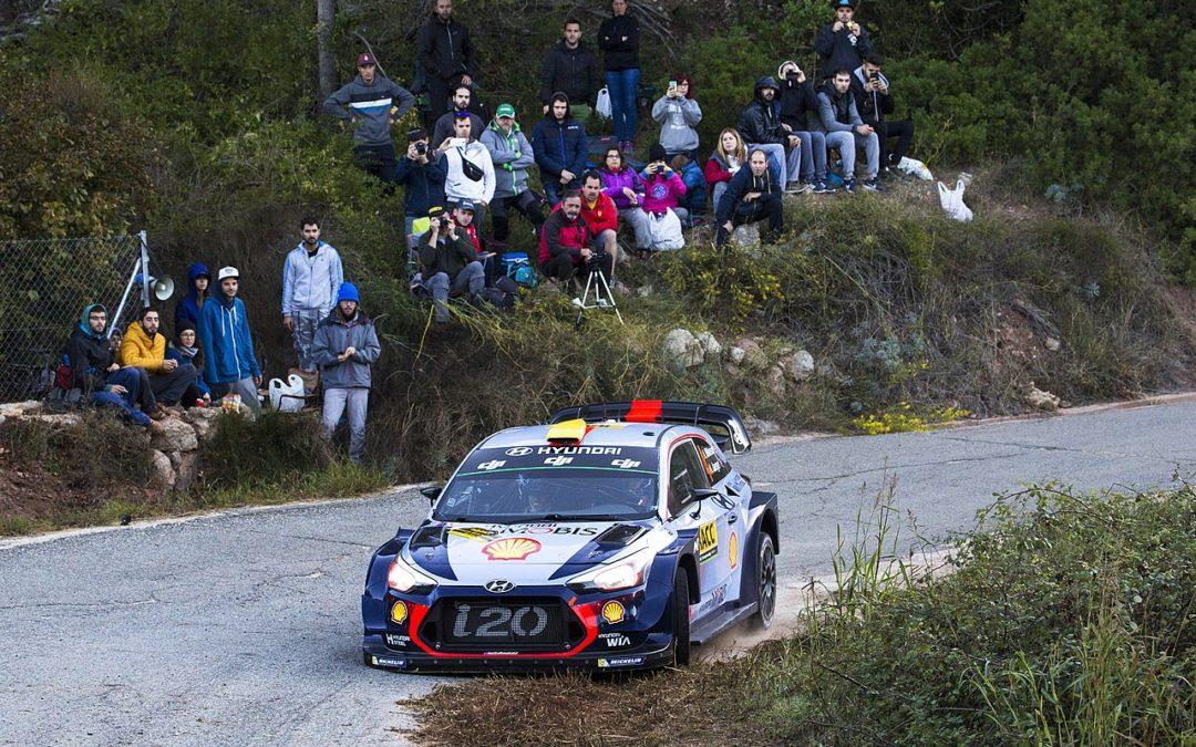 El diferencial central en los WRC actuales
