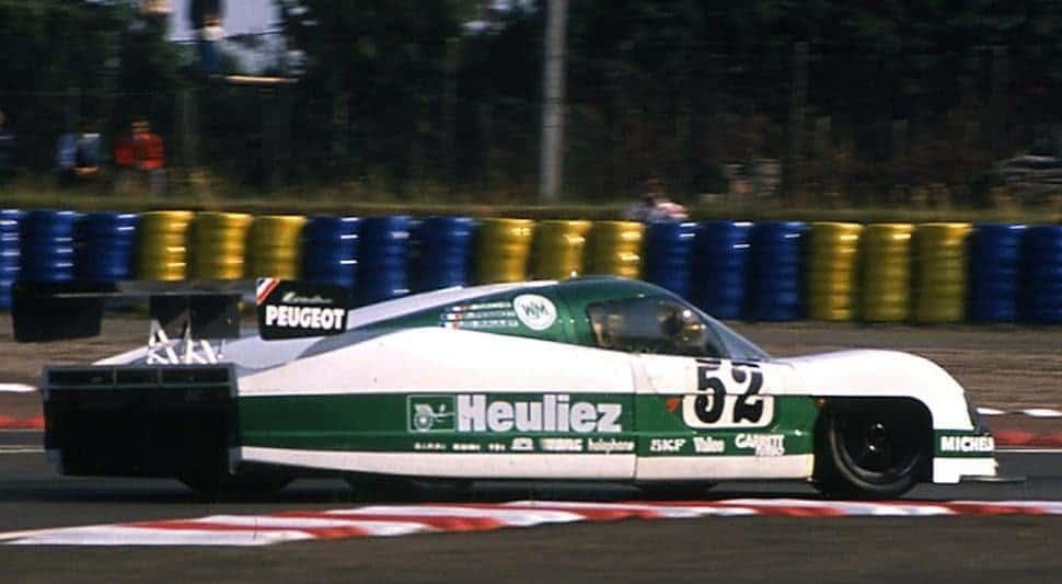 WM P88 Peugeot: el Correcaminos de Le Mans