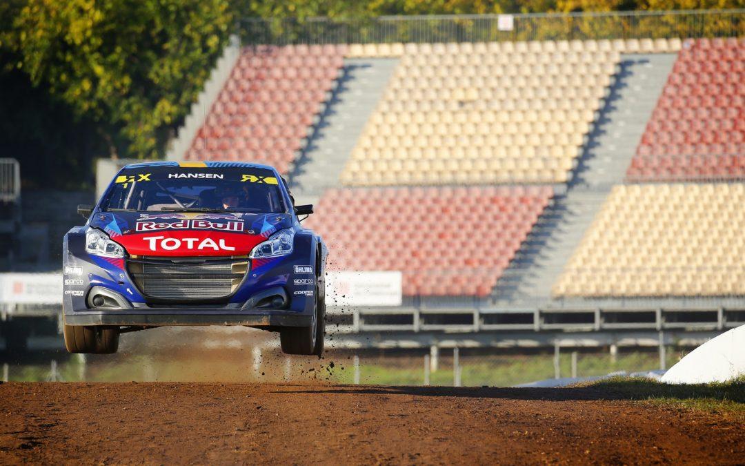 Victoria estratégica de Timmy Hansen en el Rallycross de Pirineos-Barcelona 2030