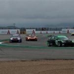 Húmedo día del GT-CER en Motorland Aragón