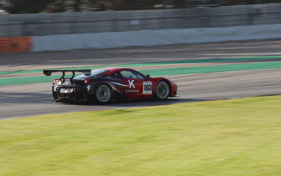 Francesc Gutiérrez y Josep Mayola dominan el GT-CER en Barcelona
