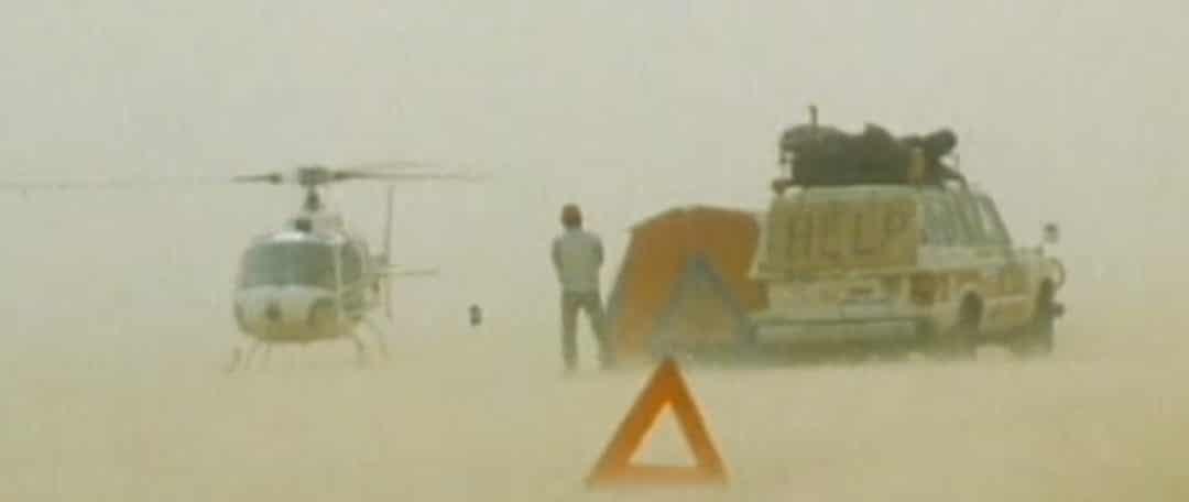 La tormenta que forjó la leyenda del Dakar