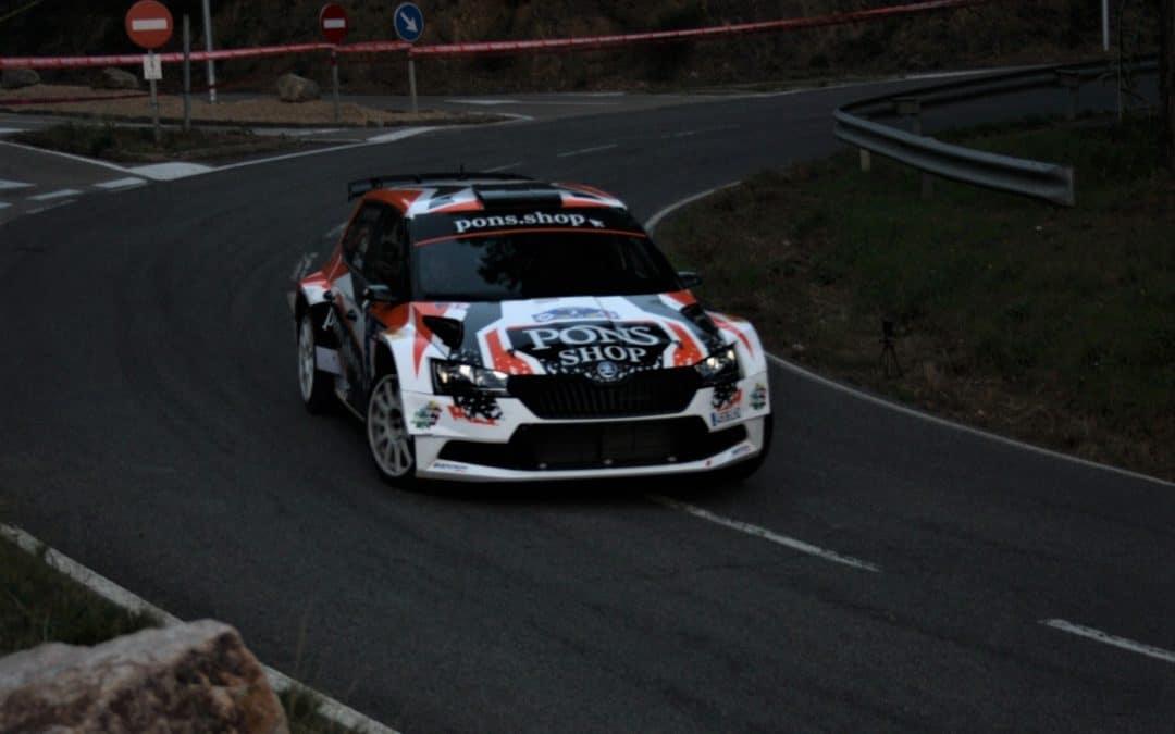 Eduard Pons y Cándido Carrera se llevan el Rally de Lloret de Mar