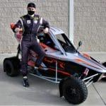 Pepe Arqué prueba su nuevo Speedcar Wonder en Mollerussa