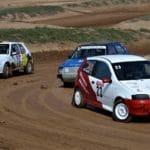 Las ganas de correr marcan el primer día del Autocross Ciutat de Lleida