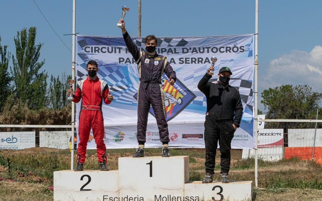 Pepe Arqué logra la primera victoria del Speedcar Wonder, en Mollerussa