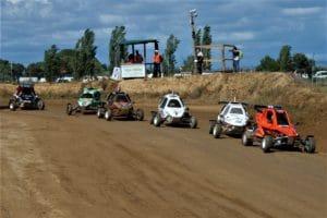 El tiempo respeta el primer día del Autocross de Esplús