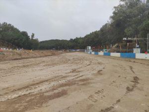 La intensa lluvia marca las calificatorias del Autocross de Cerro Negro