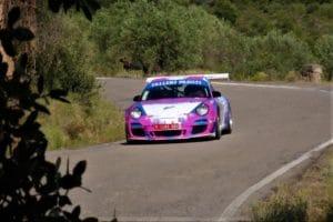 David Espasa y Joan Codinachs llevan su Porsche 997 Cup a la victoria en el Rally de Barbastro