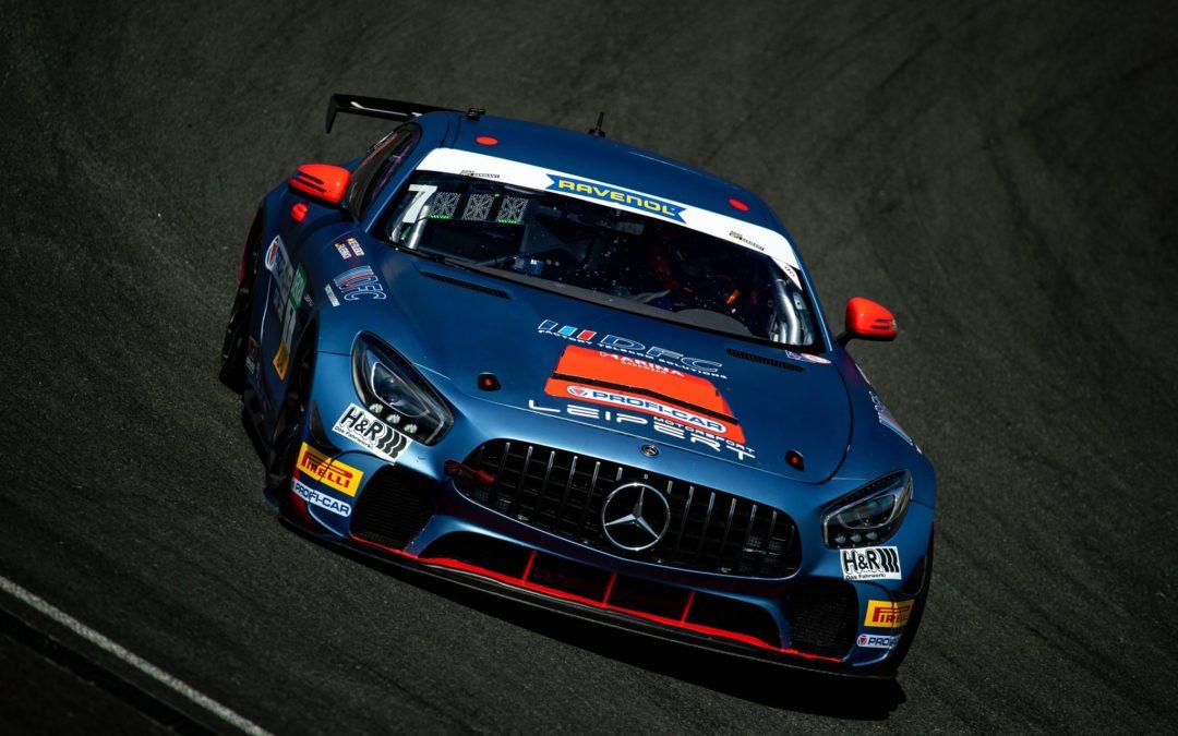 Marc de Fulgencio supera con nota la primera mitad del ADAC GT4