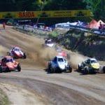 Gran ambiente en la primera jornada del Autocross de Carballo