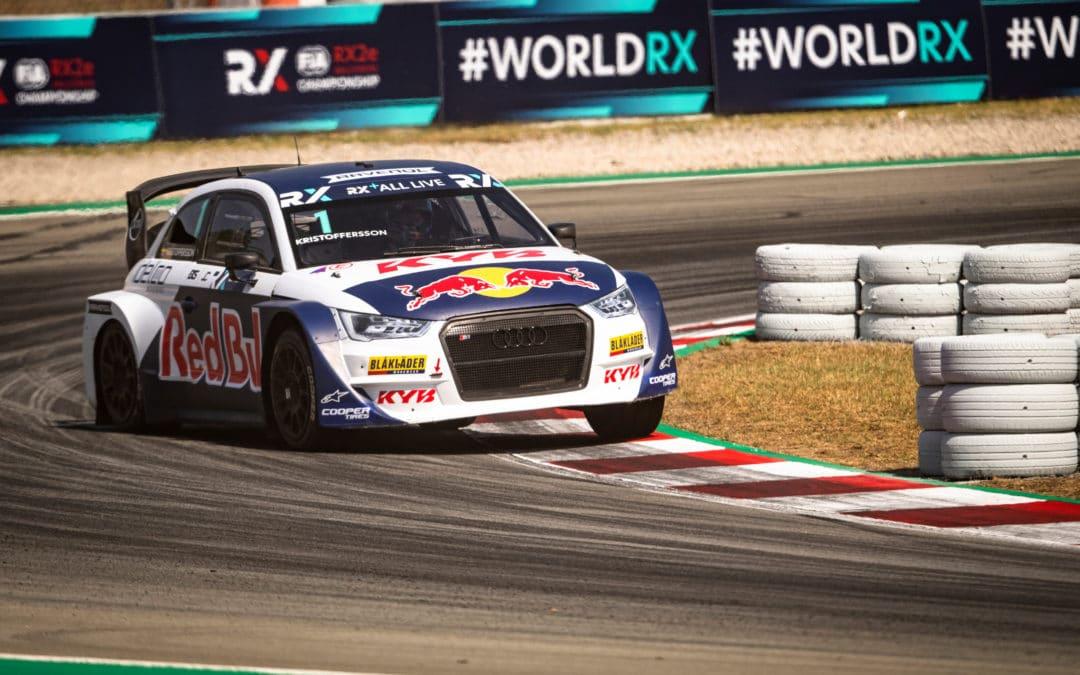 Kristoffersson se estrena en el Audi S1 dominando en Barcelona