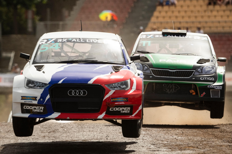 Yuri Belevskiy domina a placer en la primera prueba del europeo de rallycross RX3