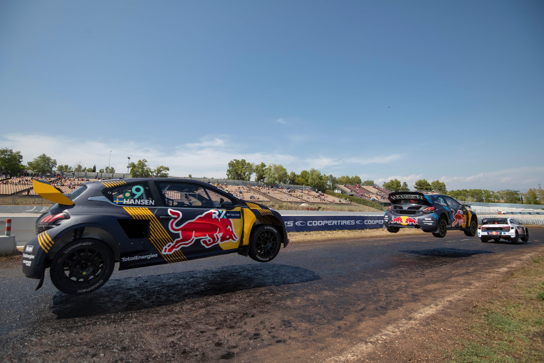 Kevin Hansen asesta el primer golpe en el mundial de RX1