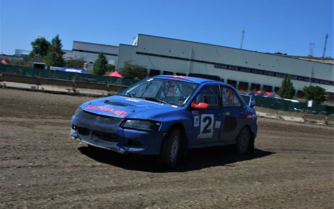Jesús Santillán gana el Rallycross de Miranda de Ebro
