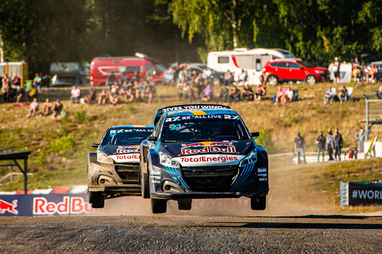 Monólogo de Timmy Hansen en el Rallycross de Suecia