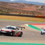 Porsche domina el GT-CER en Motorland Aragón