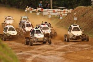 Emoción y drama en el regreso del autocross gallego a Carballo