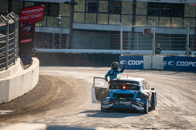 Kristoffersson mantiene el ritmo para triunfar en Spa