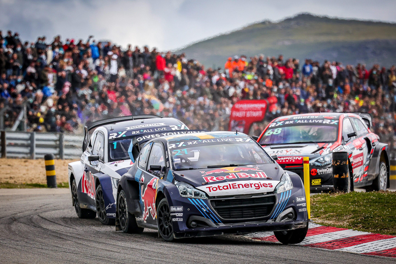 Niclas Grönholm aprovecha y gana el Rallycross de Portugal